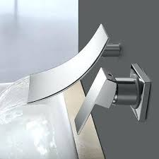 bathtub waterfall faucet bathroom bathtub waterfall faucet basin sink chrome wall mounted roman mixer tap waterfall