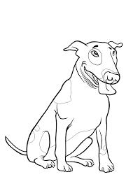 Kleurplaten Van Engelse Bulldog