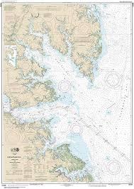 Mobjack Bay Chart Amazon Com Maphouse Noaa Chart 12238 Chesapeake Bay