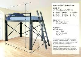 diy queen loft bed with desk twin loft bed plans our metal queen loft bed is