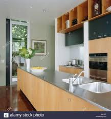 Modern Kitchen Shelving Shelves Above Oven In Kitchen Stock Photos Shelves Above Oven In
