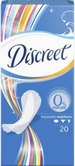 <b>Discreet прокладки ежедневные</b> Air Multiform, <b>20 шт</b>.