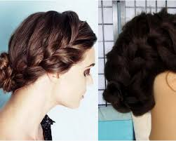 Hair Style Low Bun how to quick everday low braided bun youtube 5877 by wearticles.com