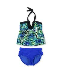 Island Escape Swimwear Size Chart Island Escape Womens Its A Wrap High Waist 2 Piece Tankini