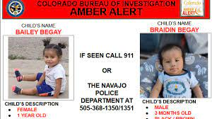 Amber Alert issued for two children