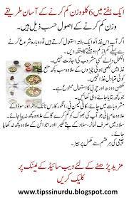 Weight Loss Tips In Urdu In One Week La Femme Tips