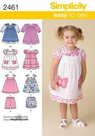 Toddler Dress Patterns Interesting Simplicity Pattern S48 Toddler's Dresses Easy To Sew Jaycotts