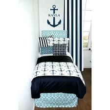 anchor bed sheets anchor bed sheets coastal navy nautical designer dorm room bedding set designer headboard