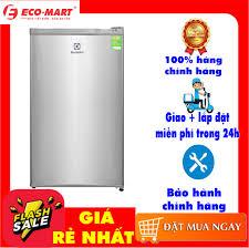 Tủ lạnh mini Electrolux EUM0900SA 92 lít Dung tích tổng:92 lít Dung tích sử  dụng:85 lít Số người sử dụng:1 - 2 người Công nghệ Inverter:Tủ lạnh thường  Điên năng tiêu thụ: