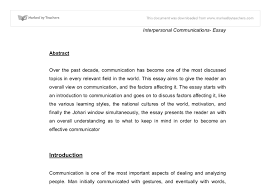 communication in the modern world university media studies  document image preview
