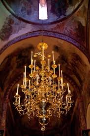 our church chandelier candlesticks are made of the purest beeswax in white yellow color