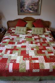 HANDMADE  Yellow Brick Road  pattern king size quilt. $350.00, via ... & HANDMADE