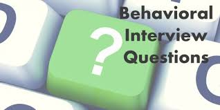 behavioral based interview question behavioral interview questions the basics