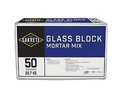 glass block mortar