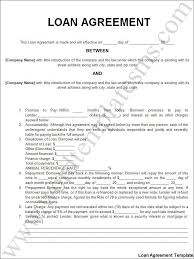Free Loan Agreement Free Printable Personal Loan Agreement Form GENERIC 25