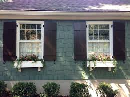 exterior window shutters diy craftsman style shutters exterior craftsman with board and batten shutters diy functional exterior window shutters