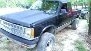 CHEVY S10 4x4 1991 SBC V8 350 - YouTube