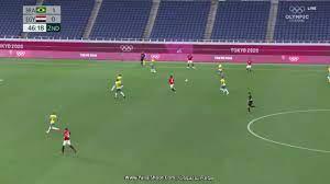 الآن ملخص مصر والبرازيل goal HD  نتيجة مباراة منتخب مصر الأولمبي اليوم ربع  نهائي أولمبياد طوكيو - كورة في العارضة