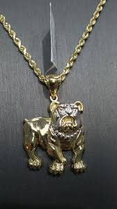 10k gold pitbull with 10k gold rope chain for in virginia beach va offerup
