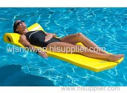 pool water with float. Swimming Pool Float Foam Vinyl Coated Dipped Lounge Water Floating Mats With I