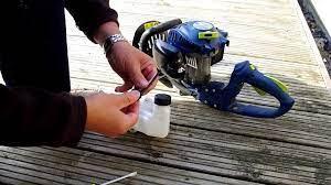 hedge trimmer petrol tank leak repair