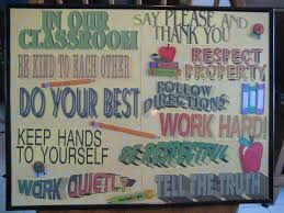 Classroom Rules Poster Ive Seen A Lots Of Clever Ideas Fo Flickr