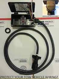 way rv trailer molded plug ft cord and sealed fuse box image is loading 7 way rv trailer molded plug 8ft