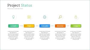 Project Status Slide Project Status Report Ppt Template Musacreative Co