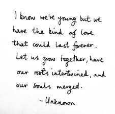 Quotes About Young Love Beauteous Image Result For Grow In Love Quotes Future Weddings Pinterest