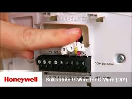 honeywell wi fi thermostat diy installation substitute g wire for Honeywell Lyric T5 Thermostat Wiring Diagram honeywell wi fi thermostat diy installation substitute g wire for c wire training honeywell Wall Mount Honeywell Lyric T5