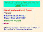 Amateur radio calling procedures