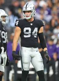 Raiders' Carl Nassib makes history and has huge play in his first game  since publicly coming out