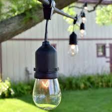 commercial outdoor string lights drop socket