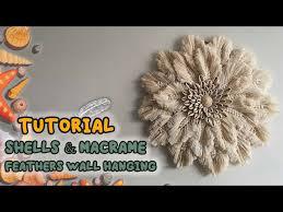 tutorial seas macrame feathers