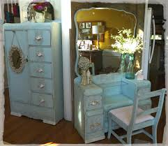 redoing furniture ideas. Beautiful Blue Duo- Chalk Painted Chifferobe And Vanity/Chair. Redoing Furniture Ideas 7
