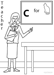 Download Coloring Pages: Teacher Coloring Pages Coloring Pages Of ...