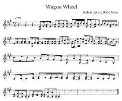 wagon wheel sheet music wagon wheel fiddle projects pinterest wagon wheels wheels