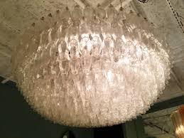 carlo scarpa chandelier for venini