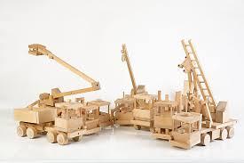 trucks wooden kit