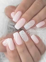 Nail Designs For Wedding Guest 2019 57 Gorgeous Wedding Nail Designs For Brides Bridal Nails