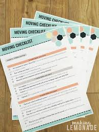 Free Printable Moving Checklist Ultimate Collection Of Moving Printables Free Printable Moving Kit