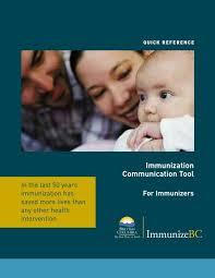 CDC Immunization 080208 - BC Centre for Disease Control