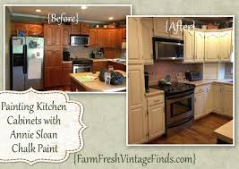 painted brown kitchen cabinets before and after. Painting Kitchen Cabinets With Annie Sloan The Reveal Painted Brown Before And After O