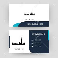 Dubai Business Card Design Template Visiting For Your Company