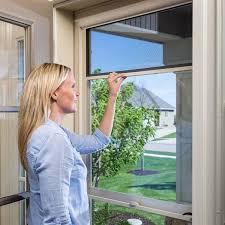 view tempered glass storm door