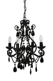 impressive small black chandelier chandeliers design amazing black chandelier with crystals small