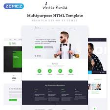 45 Best Personal Pages Website Templates