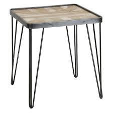 felton gray end table