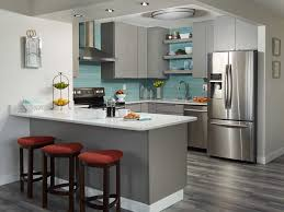 condo with gray floor gray slab door cabinetodern furniture