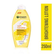 Garnier Body Light Whitening Lotion Garnier Skin Naturals Light Lotion 250ml